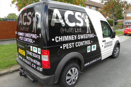 picture of the acs van